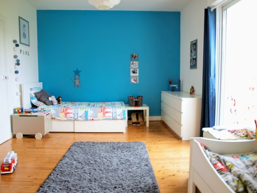 Kodinvaihdon maa,France,NANTES,Room for children (2 single beds)