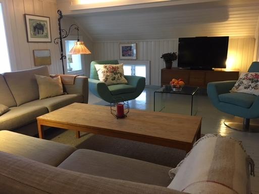 BoligBytte til,Norway,Nittedal,Living room on 1. floor.