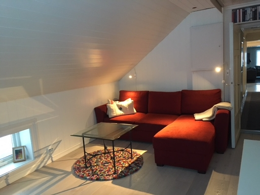 BoligBytte til,Norway,Nittedal,Bedroom with sofa/doble bed next to master bedroom