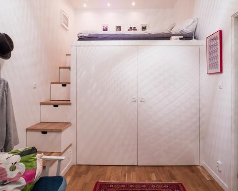 BoligBytte til,Sweden,Stockholm, Vasastan,Bedroom