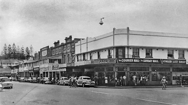Home exchange in,Australia,Coolangatta,Our place back in 1950's