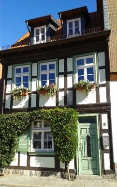 Koduvahetuse riik Saksamaa,Wernigerode in Mitteldeutschland, Sachsen Anhalt,A small house in the city center,Home Exchange Listing Image