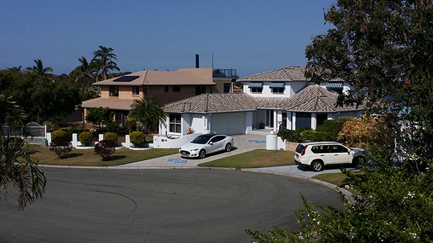 Home exchange in,Australia,SANDSTONE POINT,Houses Front View