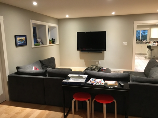 Home exchange in,Canada,Duncan,Family room