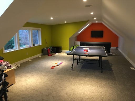 Home exchange in,Canada,Duncan,The loft/kids' play room