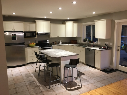 Home exchange in,Canada,Duncan,Kitchen
