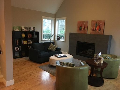 Home exchange in,Canada,Duncan,Living room