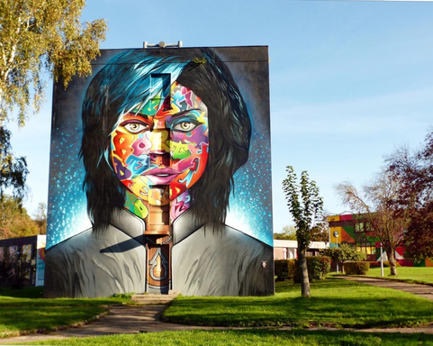 BoligBytte til,France,Abrest-Vichy,Street Art City : awesome artistic experience!