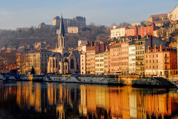 Lyon, world heritage by UNESCO