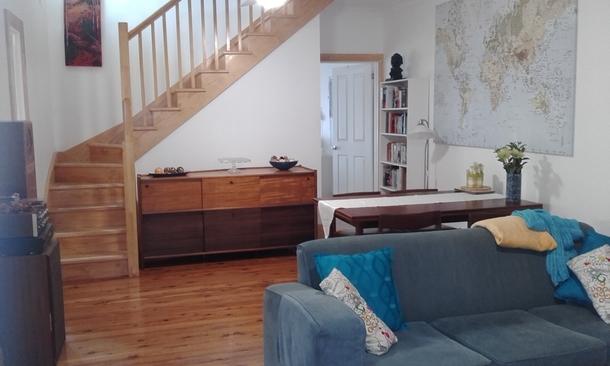 Home exchange in,Australia,BALMAIN,Lounge area, bedroom to rear