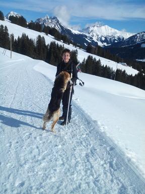2016 avec mon chien Voyou
