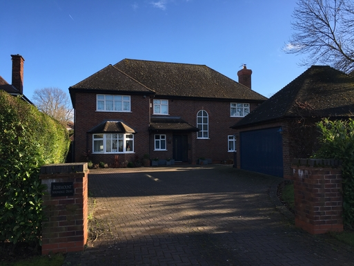 Large detached family home with garden