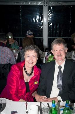 Home exchange in,Australia,WINDSOR,Us at a Brisbane Airport Ambassador dinner