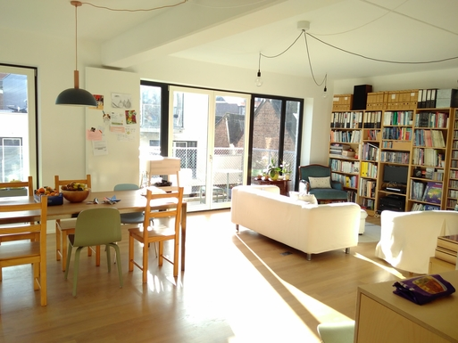 Wohnungstausch oder Haustausch in Belgien,Brussel, Brussel,Sunny apartment with shared garden in Brussel,Home Exchange Listing Image