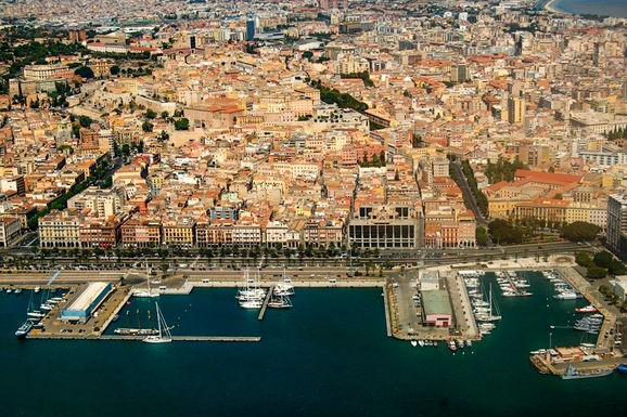 Cagliari port