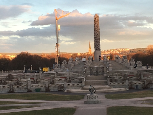 BoligBytte til,Norway,Oslo, 0k, W,The Vigeland Park. 5 min drive from house