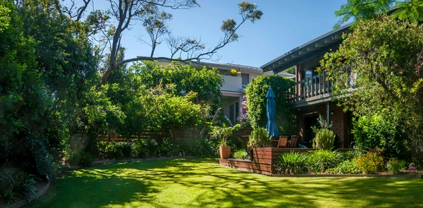 Home exchange in,Australia,SAPPHIRE BEACH,Backyard
