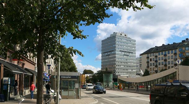 BoligBytte til,Sweden,Stockholm city, 0k,,Our metro station Odenplan