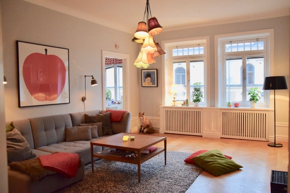 Home exchange country İsveç,Stockholm city, 0k,, Stockholms län,Lovely large flat in central Stockholm!,Home Exchange Listing Image