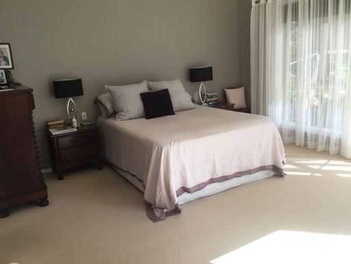Home exchange in,Australia,Coffs Harbour,Master bedroom, ensuite and walk in robe Views too