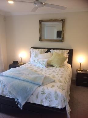 Home exchange in,Australia,ROBINA,Main Bedroom