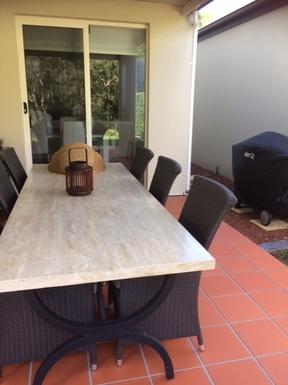 Home exchange in,Australia,ROBINA,BBQ Area