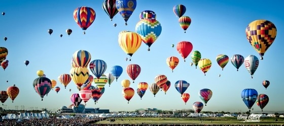 International Balloon Fiesta, every October