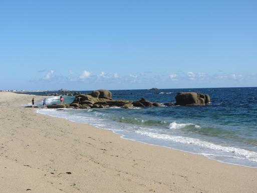 la plage à pieds à côté de chez nous