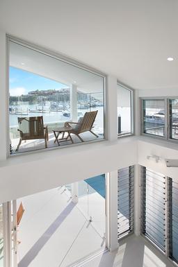 Home exchange in,Australia,Townsville,Morning coffee nook on bedroom balcony