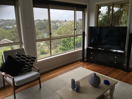 Home exchange in,Australia,ILLAWONG,Lounge area with view
