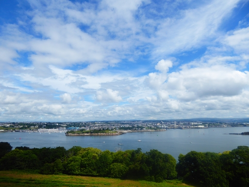 Home exchange in,United Kingdom,Plymouth,More lovely views from Mount Edgecombe.