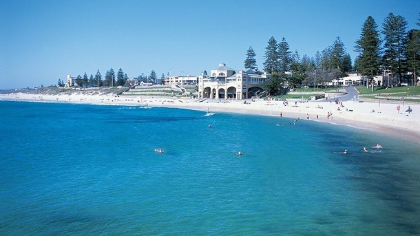 Cottesloe Beach just a few minutes from home.