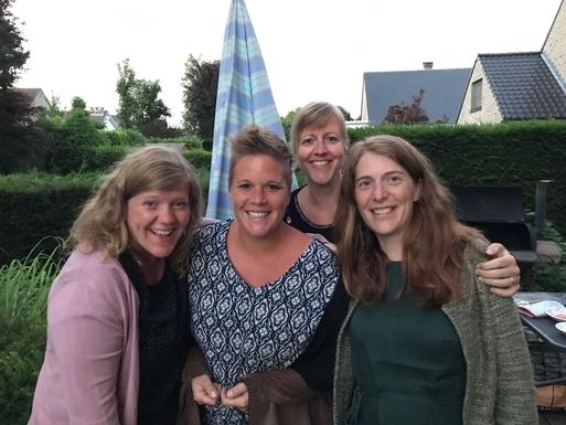 Vier vriendinnen els, lotte (katleen) en lies