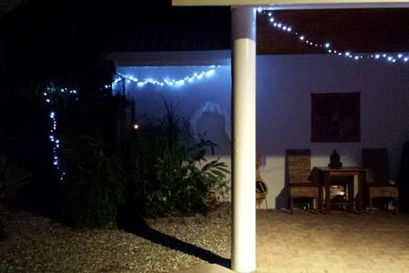 Home exchange in,Australia,Trinity Beach,Outdoor Oasis - Our BBQ Area