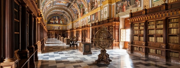 BoligBytte til,Spain,San Lorenzo de el Escorial,The library of the Monastery is worth a visit.
