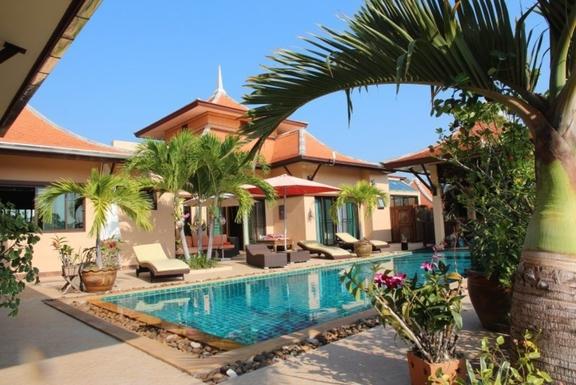 Échange de maison en Thaïlande,Thailand, HuaHin,, 25k, S, Prachuapkhirikhan,Pool Villa Thailand - HuaHin,Echange de maison, photos du bien