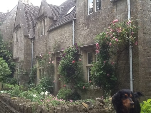 Cotswold cottage in a protected village