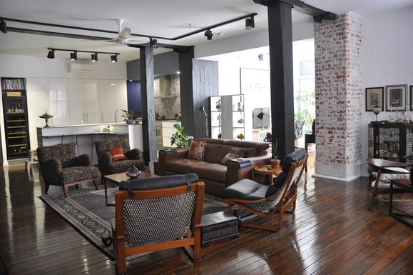 Home exchange in,Australia,TENERIFFE,open plan living room
