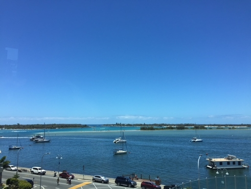 Home exchange in,Australia,Labrador,View from balcony (My own photo)