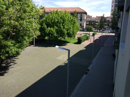 Home exchange in,Spain,Barcelona, 11k, N,Riera Canyadó, 47 alley from the balcony.