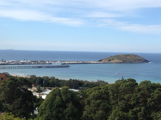 Home exchange in,Australia,COFFS HARBOUR,Famous jetty and Mutton bird island - whales go by