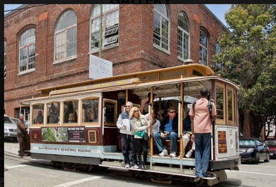 Cable Car Museum is 1 block away