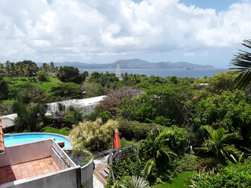 Kodinvaihdon maa Martinique,schoelcher, martinique,apartment with sea view in a quiet residence,Home Exchange Listing Image