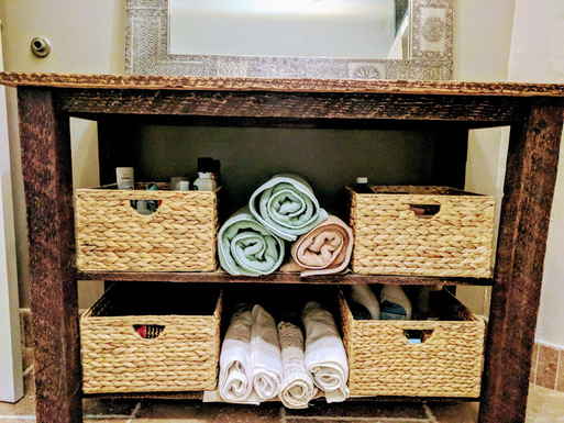 Home exchange in,United States,Portland,Bathroom linens