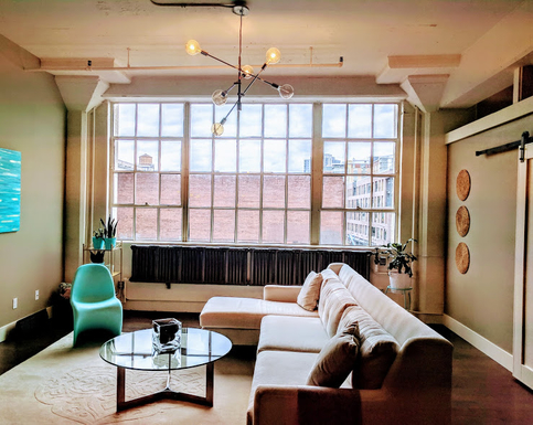 Home exchange in,United States,Portland,View of living room