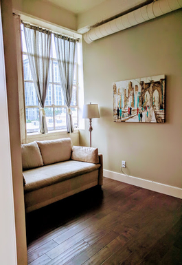 Home exchange in,United States,Portland,Office/2nd bedroom with pull-out sofabed