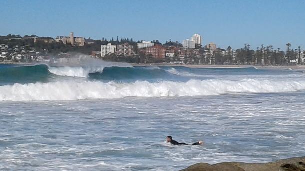 Home exchange in,Australia,Balgowlah Heights, Sydney,Manly Ocean Beach (viewed from Queenscliff)