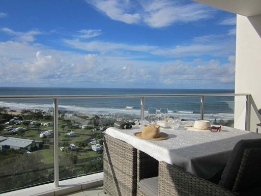 Home exchange in,Australia,Maroochydore BC,View from balcony