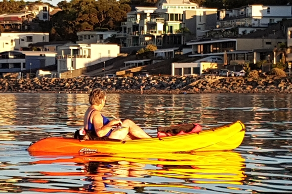 Home exchange in,Australia,Adelaide,The smaller of our two kayaks