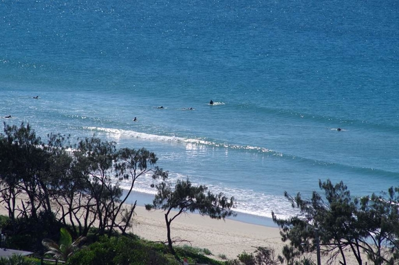 Home exchange in,Australia,Maroochydore BC,Beach across the road